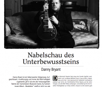 German Fans: Danny Featured in Grand Gtrs Magazine