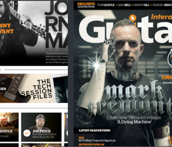 Guitar Interactive: Article & Video Interview. Watch now!
