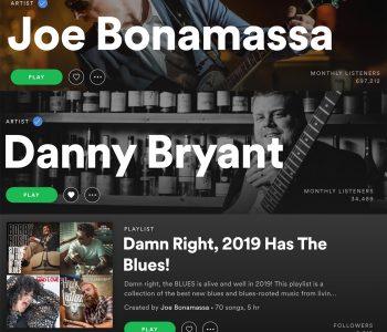 Thank you to Joe Bonamassa!