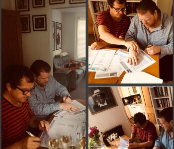 Danny signs a new deal with Jazzhaus Records